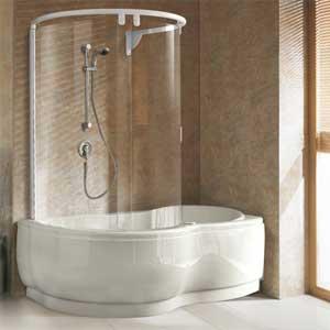 Шторки для ванны раздвижные
